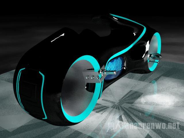 TRON Light Cycle价格:约250万