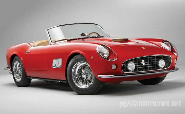 1963年款的法拉利250 GT SWB California Spider